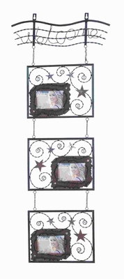 Metal Wall Photo Frame Conveniently Designed for Wall Hanging  - 92104 by Benzara