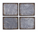 Metal Wall Plaque 4 Assorted Good Choice For Adventure Enthusiasts Brand Woodland