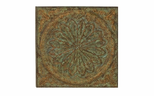"Metal Wall Plaque 49""H, 49""W Wall Decor - 53826 by Benzara"