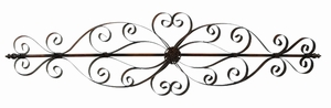 Metal Wall Scroll Crafted with Unique Design in Classy Finish Brand Woodland