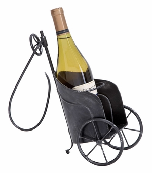 Metal Wine Holder A Personal Bar Accent With Tilt Adjustment Brand Woodland