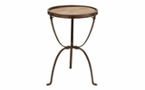 Metal Wood Side Table Sturdy And Tough Stylish Furniture Addition Brand Woodland