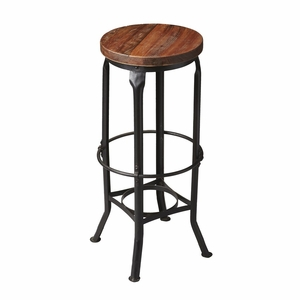 "Metalworks Bar Stool 13.75""Diam. by Butler Specialty"
