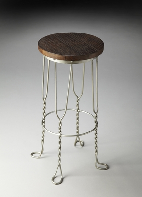 """Metalworks Bar Stool 15""""W by Butler Specialty"""
