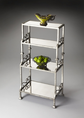 """Metalworks Etagere 22""""W by Butler Specialty"""