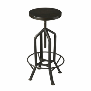 "Metalworks Revolving Bar Stool 15.75""W by Butler Specialty"