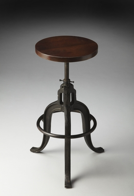"""Metalworks Revolving Bar Stool 15""""W by Butler Specialty"""