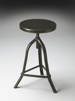 "Metalworks Revolving Stool 15""W by Butler Specialty"