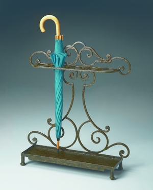 "Metalworks Umbrella Stand 26""W by Butler Specialty"
