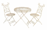 Mid Summer Patio Garden Table and 2 Chair Set Brand Woodland