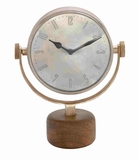 Milan Marvelous Decorative Table Clock Brand Benzara