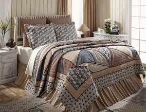 Millie Premium Soft Cotton Quilt Luxury Super King 120 x105 by VHC Brands