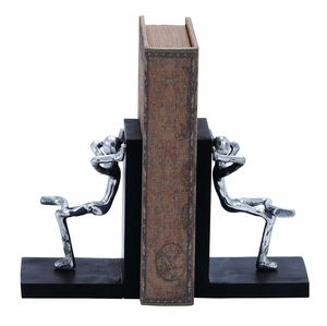 Miniature Figurines Aluminum Bookend Brand Woodland
