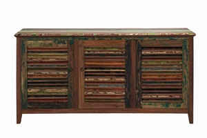 Miraballa Sideboard with Three Front Doors in Multicolor Brand Woodland