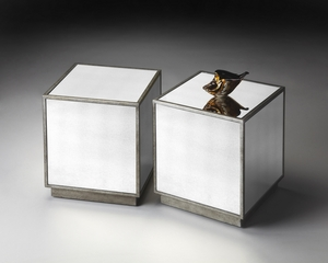 "Mirror Bunching Cube 15""W by Butler Specialty"