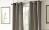 Mocha Shade Black Out Curtains Pack of Two