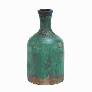 Modern Long Lasting Terracotta Bottle Vase with Rich Color Brand Woodland