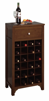 Winsome Wood Modern Piece of Modular Wine Cabinet
