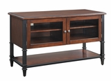 Modern Piece of Wooden Benton TV Console by Office Star
