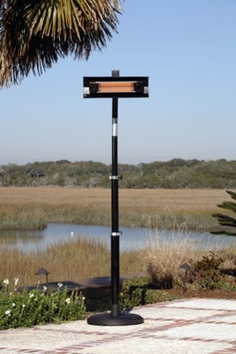 Modica Pole Mounted Infrared Patio Heater, Sturdy And Stylish Unit by Well Travel Living