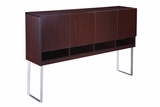Modular Laminate Series Hutch - 4 Door by Boss Chair