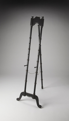 """Monet Black Licorice Easel 22""""W by Butler Specialty"""