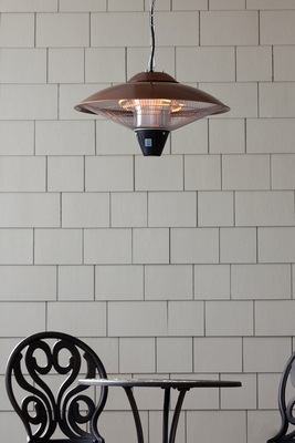 Monza Hanging Halogen Patio Heater, Remarkable And Super Functional Unit by Well Travel Living