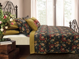 Moraga Quilt Attractive Patchwork Appealing King Set Brand Greenland