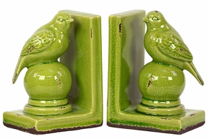 Morocco Stylish Stoneware Bird Bookend