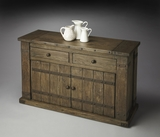 "Mountain Lodge Console Cabinet 51""W by Butler Specialty"