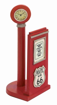 Mulberry Vintage Gas Pump Paper Holder Brand Benzara