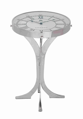Unique And Exclusive Table Cum Clock With Elegant Stand - 27872 by Benzara