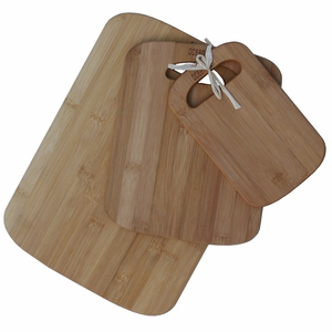 Multi-Use 3-Piece Bamboo Cutting Board Set by Oceanstar