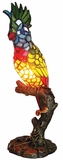 Multihued Classy Styled Parrot Accent Lamp by Chloe Lighting