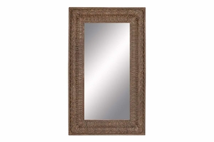 "Multipurpose Decor - 53953 Polyurethane Frame Mirror 90""H, 53""W Brand Woodland"