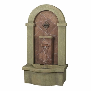 Muro Di Pietra Wall Slate Outdoor/Indoor Water Fountain Brand Zest