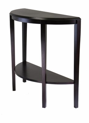 Nadia Console Table with Half Moon Shape by Winsome Woods