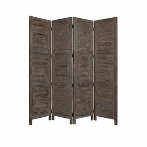 Nantucket Screen Handcrafted with Solid Cedar Wood in Grey Brand Screen Gem