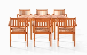 Napa Six-Seater Dining Set by Vifah