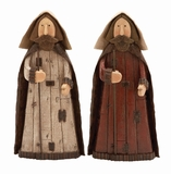 "Nativity Set of 2 Polystone Joseph Figurines Assorted 16""H, 8""W by Woodland Import"