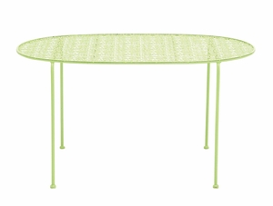 Nature's Metal Green Tea Table by Woodland Import