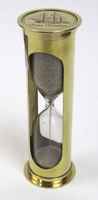 Nautical Themed Classy Vintage Sand Timer by IOTC