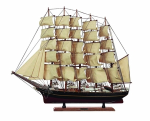Nautical Wood Trade Ship D�cor For a Grand Ocean Adventure Brand Woodland
