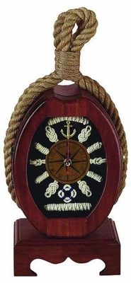 Nautical Wood Trade Ship Pulley D�cor a Grand Seaside Adventure Brand Woodland