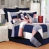 Newport Pier Coastal Nautical Quilt Luxury King  Bedding Ensembles Brand C&F