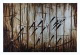 Nice Wooden and Metal Wall D�cor in Brown Brand Woodland