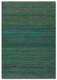 """Nivi 16"""" Hand Woven Viscose Rug with Shades of Different Shades. Brand Uttermost"""