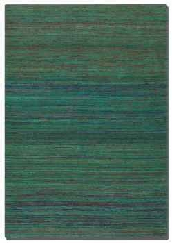 "Nivi 16"" Hand Woven Viscose Rug with Shades of Different Shades. Brand Uttermost"