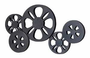 Nostalgic Movie Reel Wall Decor