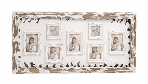 Nostalgic Wood Wall Photo Frame by Woodland Import